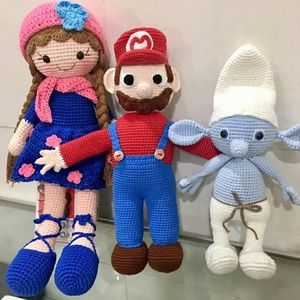 Other - Handmade Crochet DOLL ONLY Amigurumi Sensory Toy